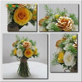 Bó hoa cưới - Tự nhiên