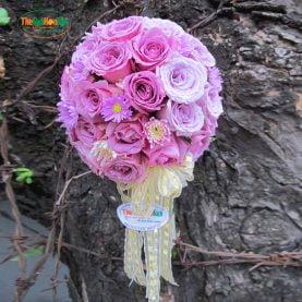 Hoa cưới - Sắc tím