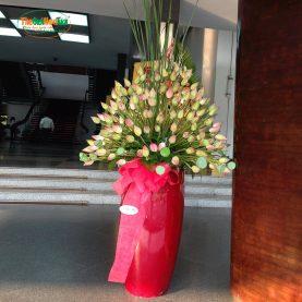 Bình hoa sen vip thiết kế theo yêu cầu