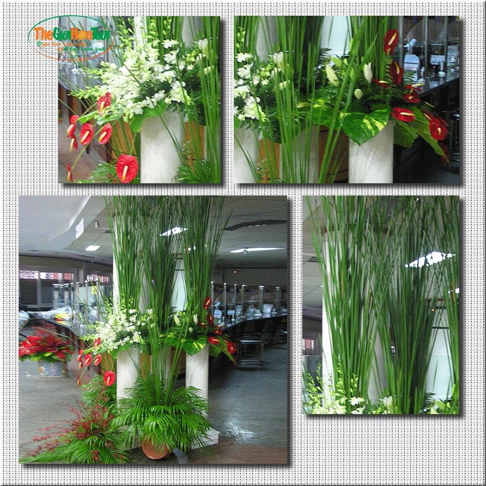 Thiết kế hoa tiền sảnh