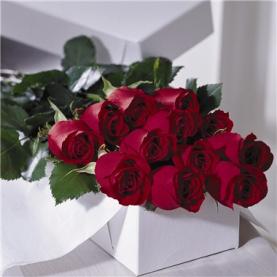 điện hoa mỹ Hoa tươi US-01 12 hồng đỏ cành dài
