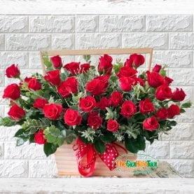 Giỏ hoa- Ngọn lửa yêu thương-TGHT-20003