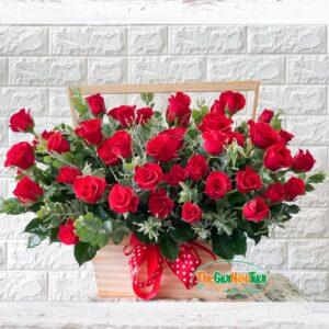 Giỏ hoa- Ngọn lửa yêu thương