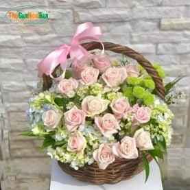 Giỏ hoa - Bản nhạc dịu êm