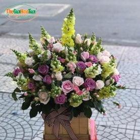 Giỏ hoa - Kỷ niệm xưa - TGHT-20014
