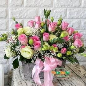 Giỏ hoa - Cảm nắng - TGHT-20016