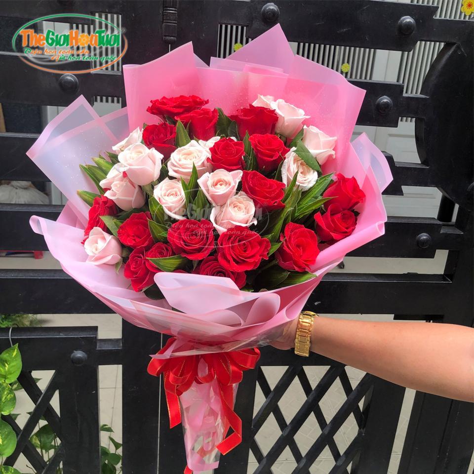 Bó hoa hồng - Chuyện tình đôi ta - TGHT-20024