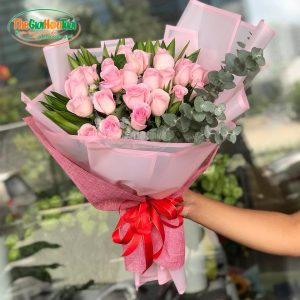 Bó hoa hồng - Trọn vẹn bên nhau