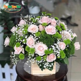 Giỏ hoa hồng - Lời tỏ tình