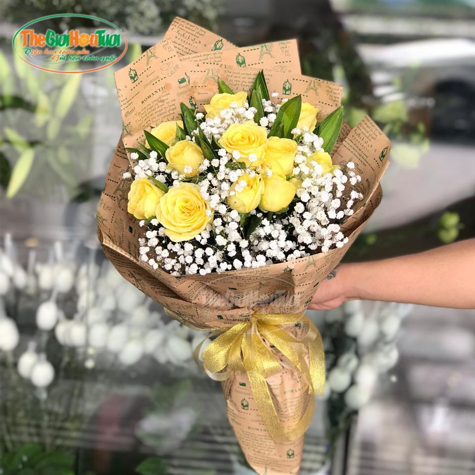Bó hoa - Nắng hạ - TGHT-20030
