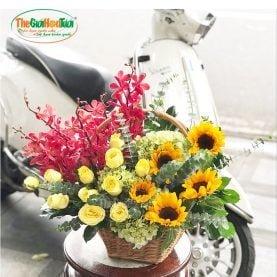 Giỏ hoa-Hạnh phúc đôi ta-TGHT-20035