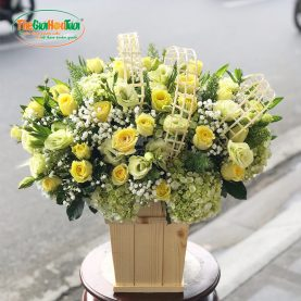 Giỏ hoa-Đắm say-TGHT-20039